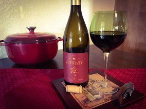 Red wine with Italian Chili